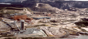 Overview Mine Site Plant